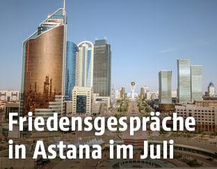 Stadtansicht von Astana