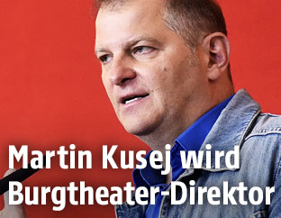 Burgtheater-Direktor Martin Kusej