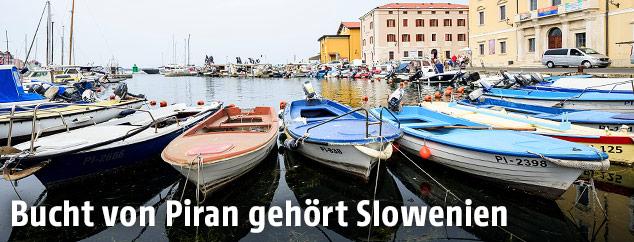 Boote vor Piran