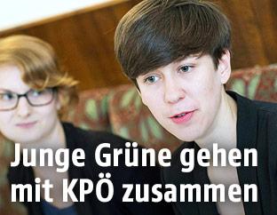 Junge Grüne-Bundessprecherin Flora Petrik
