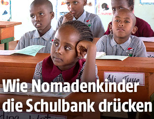 Schulkinder in Kenia
