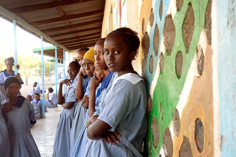 Schulkinder in Kenia