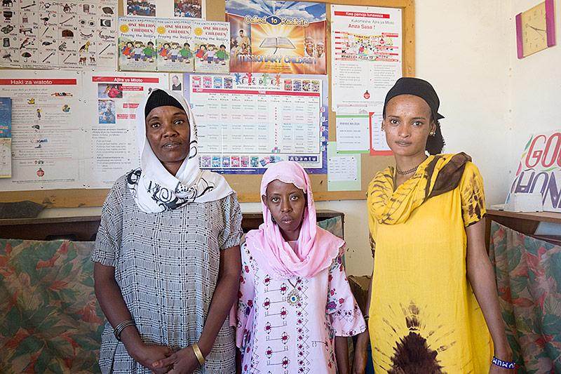 Lehrerinnen in Kenia