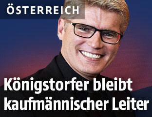 Kaufmännischer Geschäftsführer des Burgtheaters Thomas Königstorfer