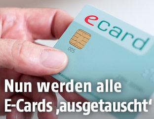 Eine E-Card