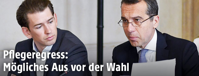Sebastian Kurz und Christian Kern