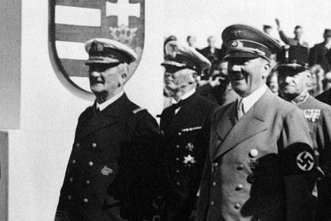 Adolf Hitler und Miklos Horthy
