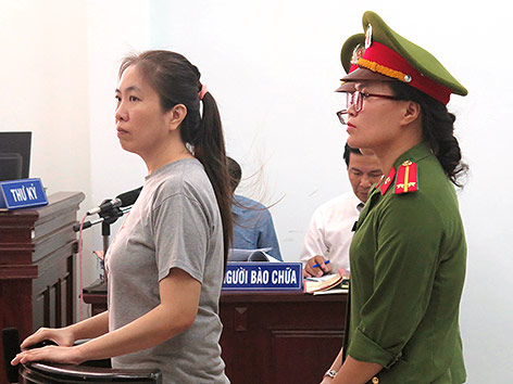 Vietnamesische Bloggerin Nguyen Ngoc Nhu Quynh
