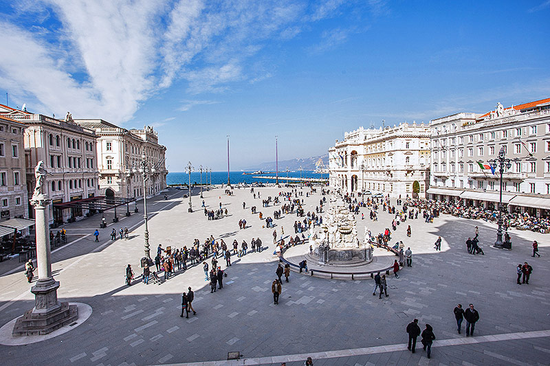 Piazza dell'Unita d'Italia in Triest