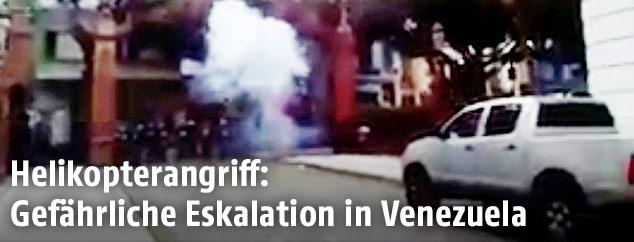 Unruhen in Caracas