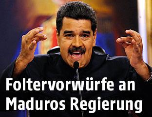 Venezuela's Präsident Nicolas Maduro