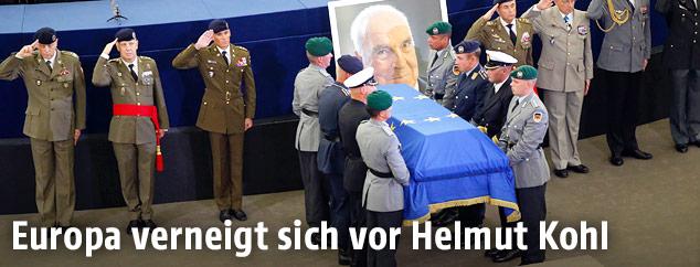 Trauerfeier für Helmut Kohl