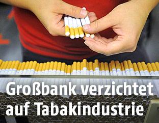 Zigarettenproduktion