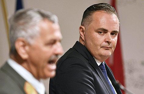 Verteidigungsminister Hans Peter Doskozil (SPÖ)