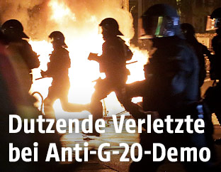 Ausschreitungen beim G20-Gipfel 2017 in Hamburg
