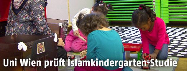 Kinder im Islamkindergarten