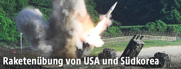 Südkoreanische Rakete
