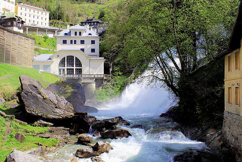 Wasserkraftwerk von Bad Gastein