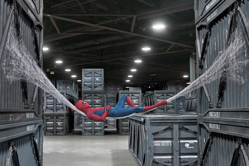 "Szene aus dem Film ""Spider-Man: Homecoming"""