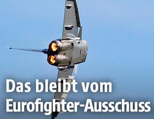 Eurofighter in der Luft