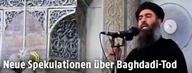 Is Anfuhrer Neue Spekulationen Uber Baghdadi Tod News Orf At