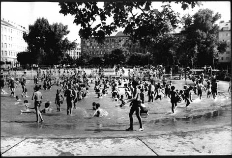 Archivbild vom Kinderfreibad am Max-Winter-Platz