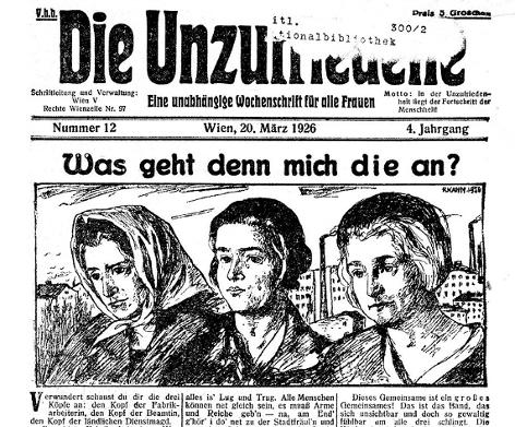 Zeitung aus dem Jahr 1926