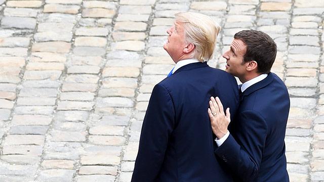 """Treffen """"unter Freunden"""" in Paris"""