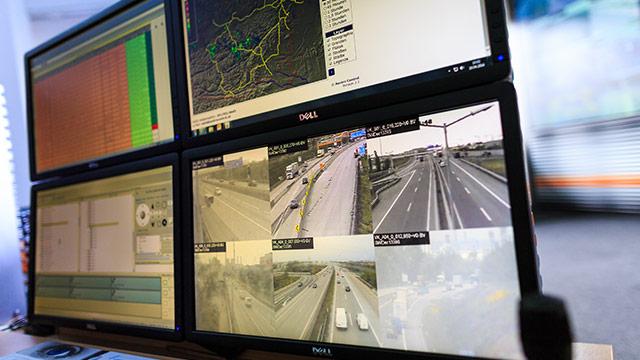 Autofahrer in der Überwachungsfalle