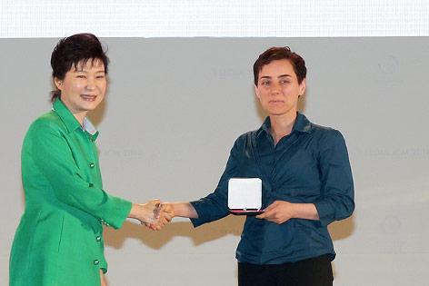 Iranische Mathematikerin Maryam Mirzakhani