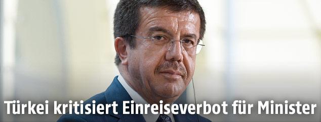 Der türkische Wirtschaftsminister Nihat Zeybekci
