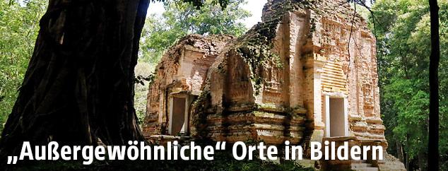 Sambor Prei Kuk Tempel in Ishanapura in Kambodscha