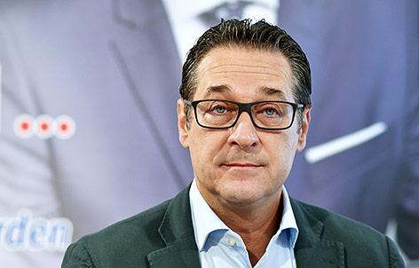 FPÖ-Bundesparteiobmann Heinz-Christian Strache