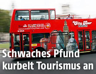 Sightseeing-Bus in London