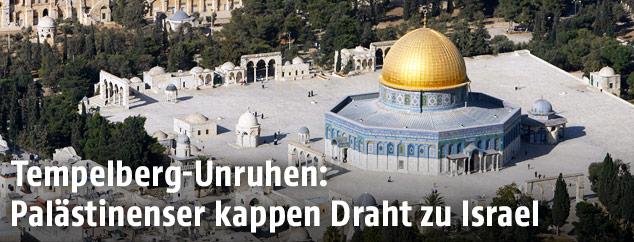 Felsendom am Tempelberg in Israel