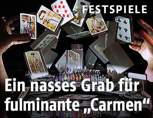 """""""Carmen"""" bei den Bregenzer Festspielen"""