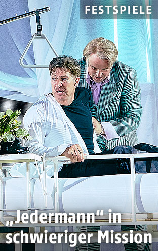 Tobias Moretti und Hannes Flaschberger