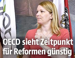 OECD-Generalsekretärin Mari Kiviniemi