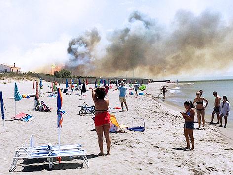 Brände in Italien