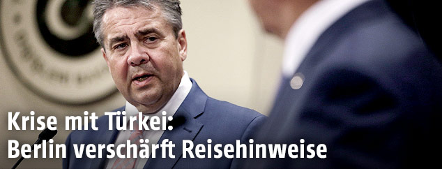 Der deutsche Außenminister Sigmar Gabriel