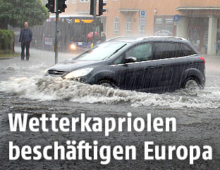 Überschwemmungen in Europa
