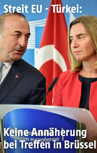 Mevlut Cavusoglu und Federica Mogherini