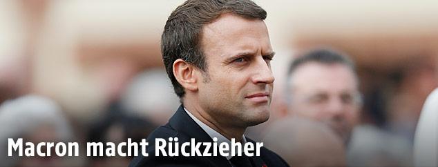 Emmanuel Macron, französischer Präsident