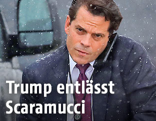 Der bisherige Kommunikationschef des Weißen Hauses, Anthony Scaramucci