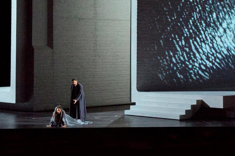 Szenenbild Aida und Radames