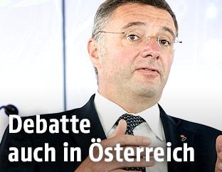 Infrastrukturminister Jörg Leichtfried (SPÖ)