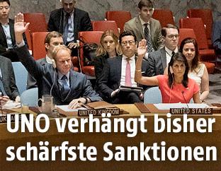 UNO-Sicherheitsrat stimmt über Sanktionen gegen Nordkorea ab