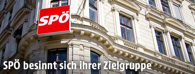 SPÖ Parteizentrale in Wien