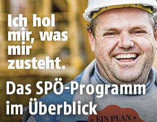 Screenshot des SPÖ-Parteiprogramms
