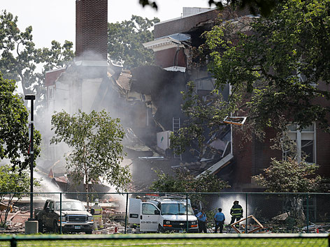 Gasexplosion in einem Schulgebäude in Minneapolis